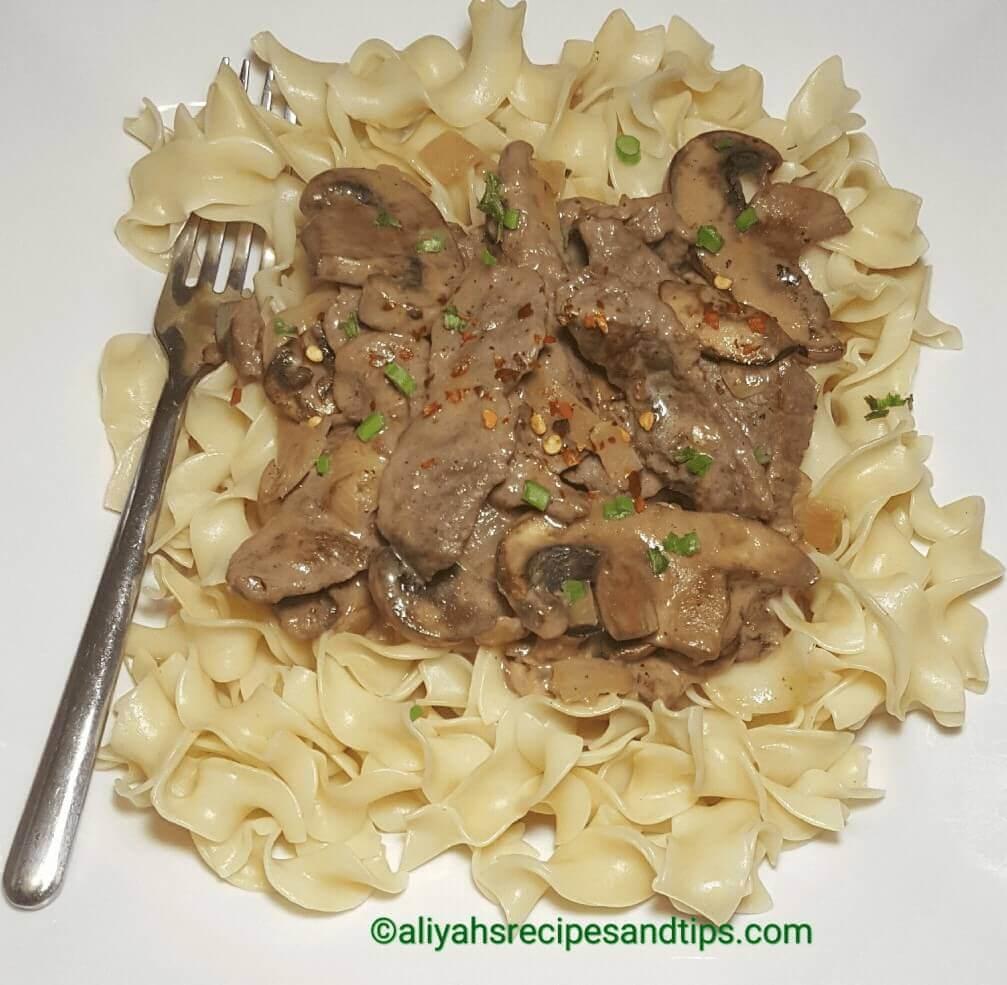 beef stroganoff , best beef stroganoff , how to make beef stroganoff , beef stroganoff recipe