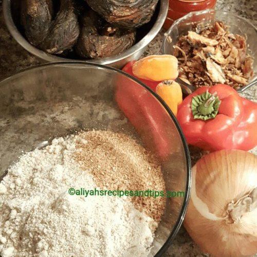 Egusi soup, Nigerian egusi soup, melon soup, Egusi elefo