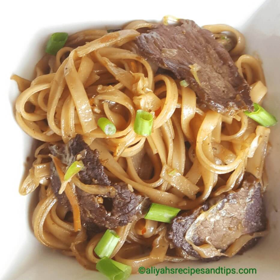 Mongolian beef , how to make Mongolian beef pasta, Mongolian