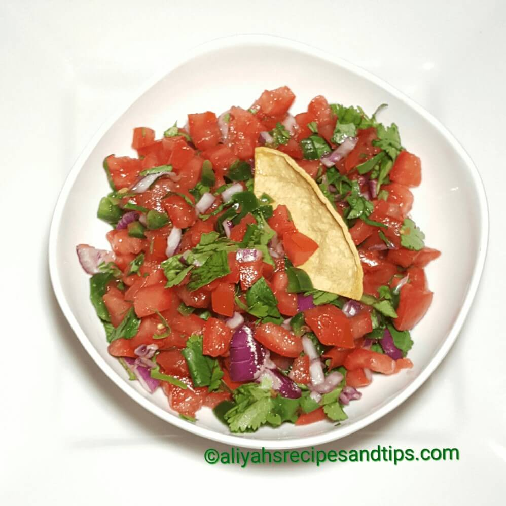 Pico de gallo, Salsa, Mexican pico de gallo, how to make pico de gallo, how to make Mexican pico de gallo
