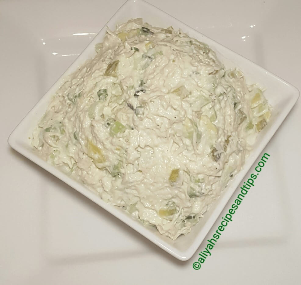 How to make chicken salad, chicken salad, avocados chicken salad, healthy chicken salad