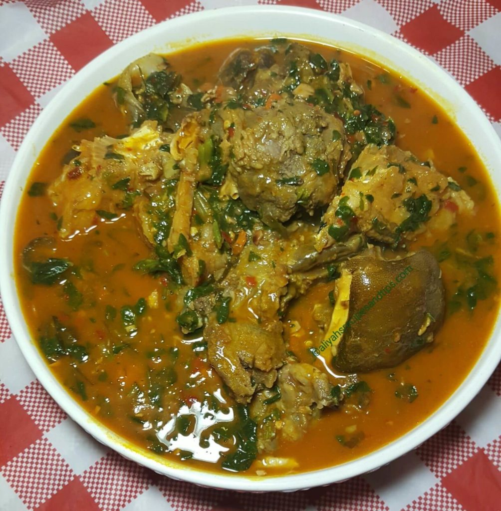 ofe okazi, ofe owerri, okazri soup recipe, afang soup, Nigerian soup, Easter Nigerian soup, peppers, Igbo, Uziza, Okazi leaves, Achi, Ofo, Ukazi, Mgbam, ofe okazi, okazi soup, ofe okazi (okazi soup), okazi and spinach soup, Egusi with Okazi, okazi with achara and egusi balls, ofe okazi with achara