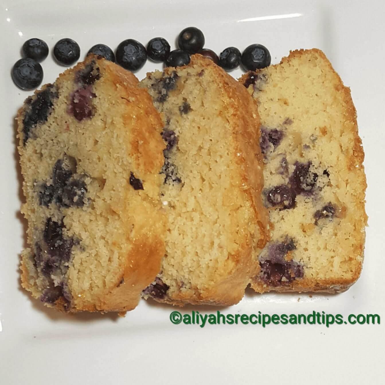 Orange blueberry loaf, blueberry loaf, how to make orange blueberry loaf