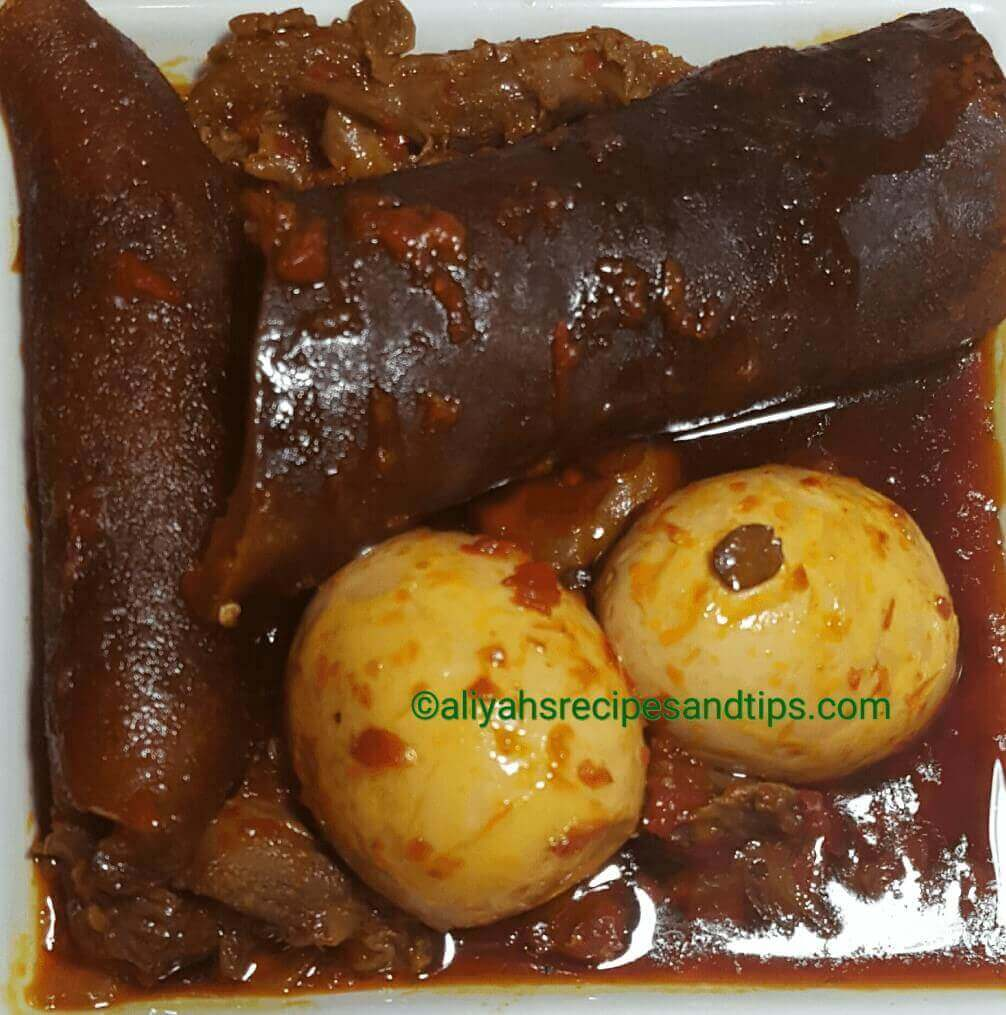 Red Ayamase Stew