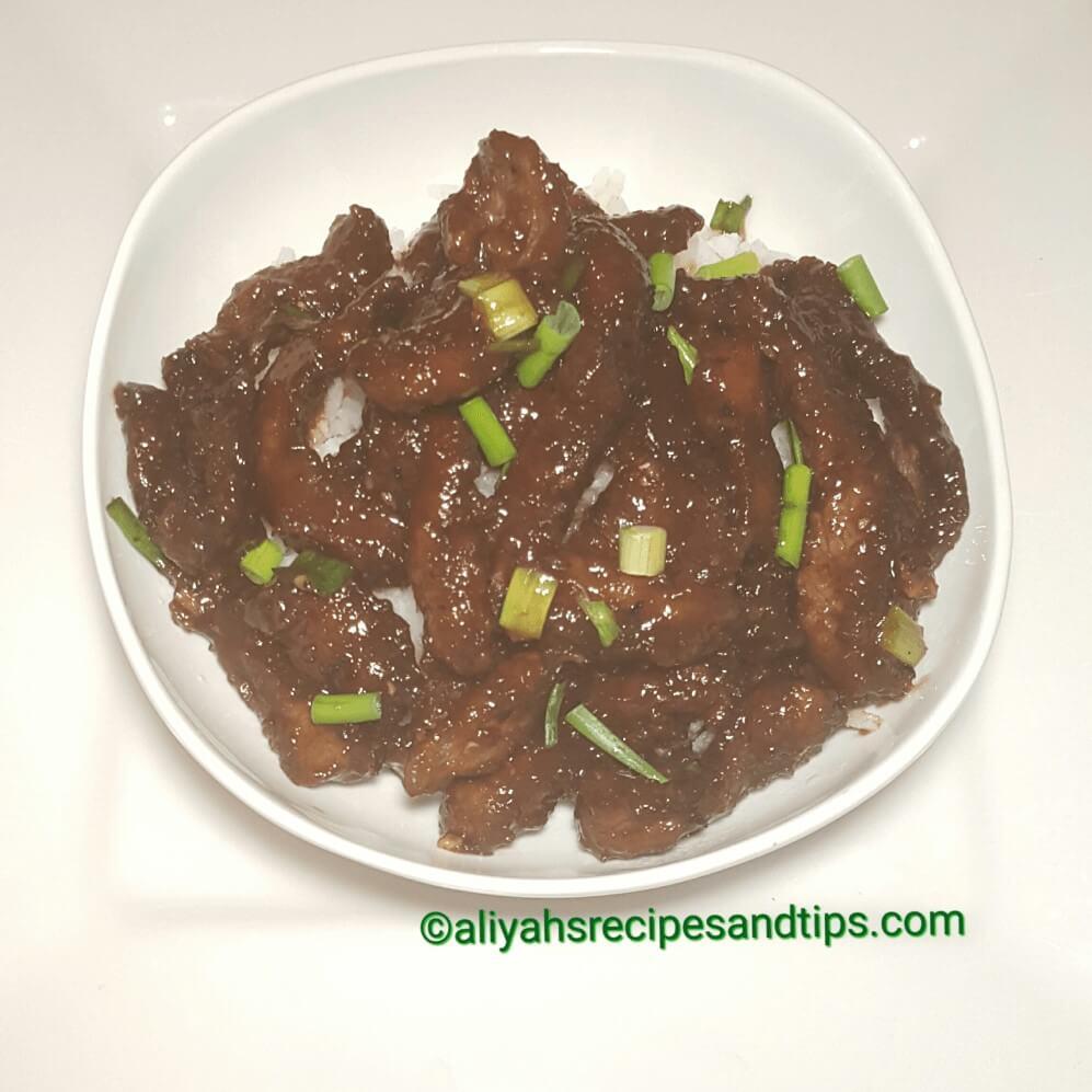 Mongolian beef, Beef, Mongolian