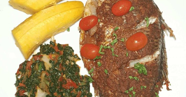 Suya spice infused grilled fish, grilled fish, grilled tilapia fish, Nigerian grilled fish, suya fish