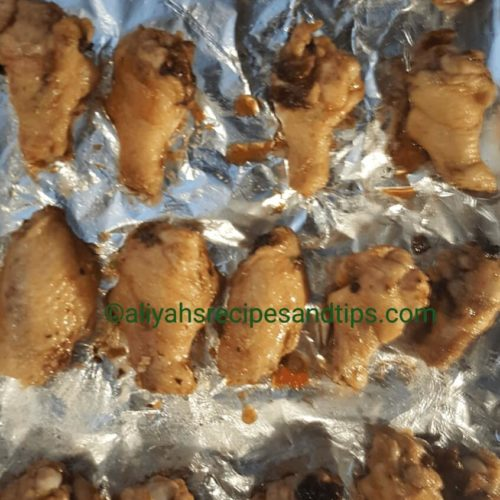 sweet and spicy chicken wings,wings, baked, grilled, korean, easy, hot sauce, oven, homemade,crispy