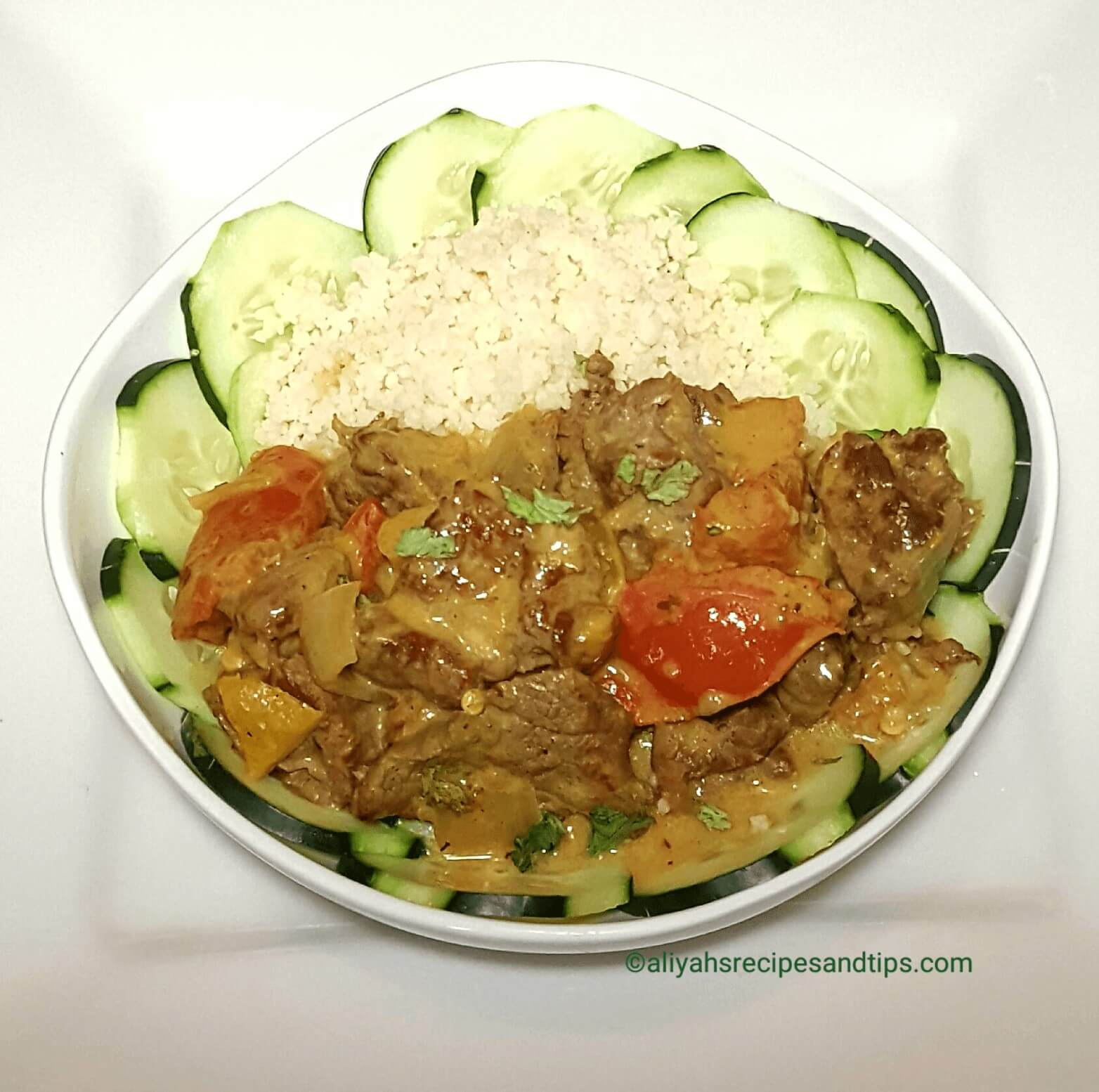 Coconut Beef Curry, Thai, Easy, Coconut milk, Curry sauce, Potato, Indian, Asian, Curry, Easy, Stew
