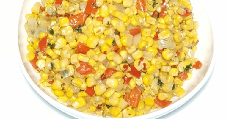 fresh corn, roasted corn, sweet corn, baby corn, cob, salad, pepper salsa, corn salad, crispy corn