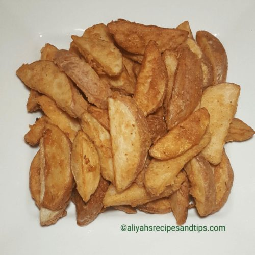 Fried potato wedges, fried, fried potato, garlic potato, crispy potato, kfc crispy potato, crispy fried potato wedges, crispy fried potato, potato, crispy