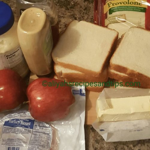 apple sandwiches, cheese, grill cheese, grilled, homemade grilled cheese, masala, sandwiches, toast, Turkey Breast and Apple Sandwiches, turkey panini, Turkey sandwiches
