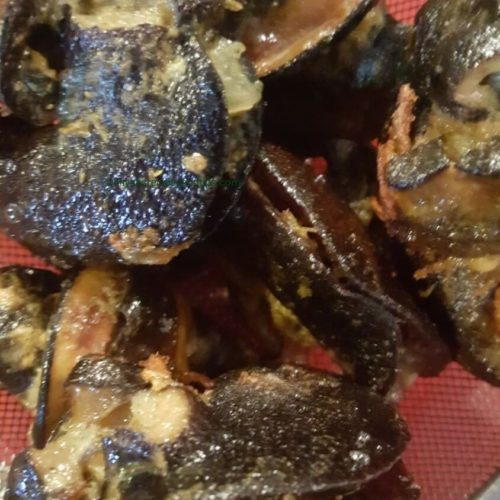 peppered snail, sofit peppered snail,Dooney's kitchen, ofada, benefit snail, frozen, rosated,Ghana, pepperesanil stew, snail, snail stew, fried, Nigerian snail, Nigerian peppered snail, spicy, recipe, cooked, in Lagos, boiled,