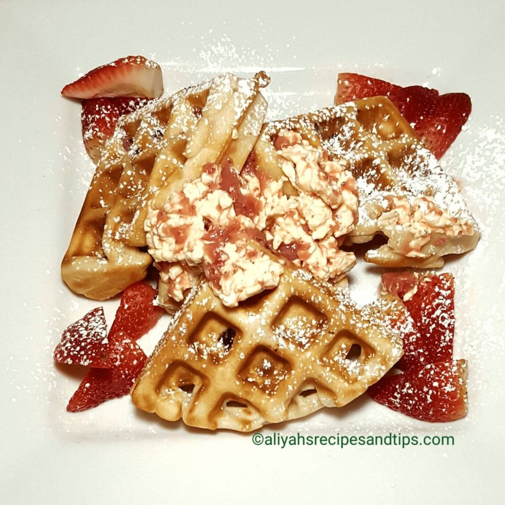 strawberry waffles recipe, buttermilk waffles, cream cheese, bobby flay, waffle iron, waffle machine, batter, baking powder, vegan, strawberry waffles, pecan waffles, belgian waffles, strawberry syrup, gluten free, whipped cream, buttermilk waffles, strawberry sauce, fresh strawberries,