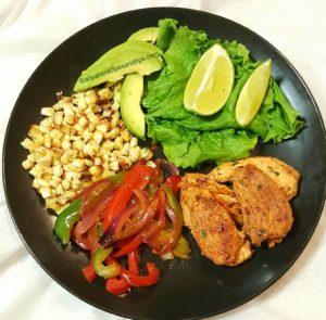 fajitas salad recipe, salad, chili lime fajitas, fajitas seasonin, chicken breast, chili lime chicken fajitas, cilantro limem grilled chicken salad, chicken, low carb,