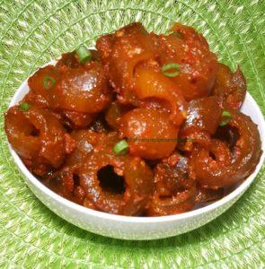 Nigerian kpomo, Nigerian ponmo, stew, pomo, ponmo, sauce,Nigerian ponmo stew, African kpomo, African ponmo, ponmo alata, alamy, cow skin, leather, fabwoman, afrolem, meat, nutritional value, kanda,
