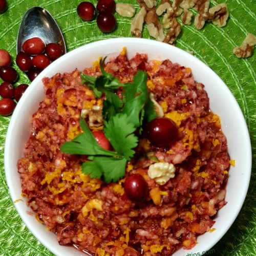 Nutty cranberry, smooth, transparent, nutty cranberry relish, cranberry walnut,orange juice, fresh cranberry, orange zest, cranberry relish, cranberry trisha yearwood, relish recipe, sauce recipe, apple cranberry, thanksgiving, homemade cranberry, food network,